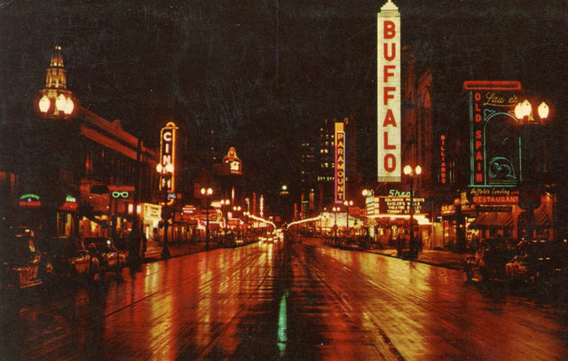 PARAMOUNT Theatre; Buffalo, New York.