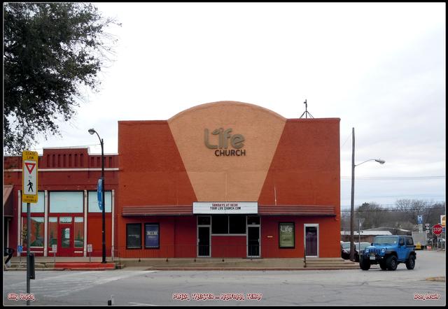 Plaza Theater ... Kaufman Texas