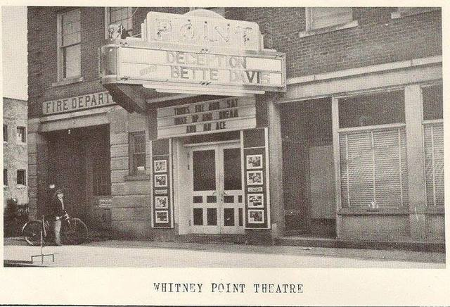 The Point theater. Whitney Point N.Y., photo courtesy of Ken Peterson.