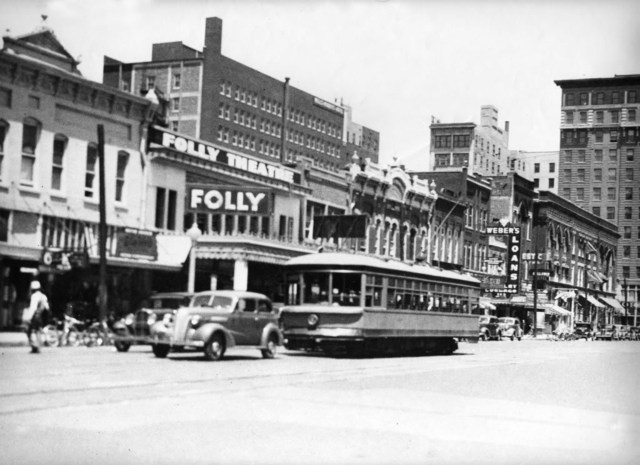 Folly Theatre, Oklahoma City, Early 40's