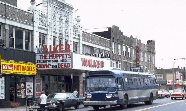 the WALKER Theater in 1979