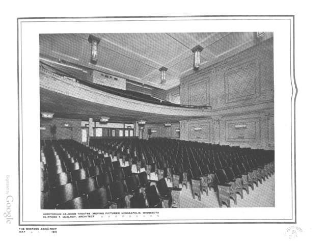 Calhoun Theatre - Interior, balcony