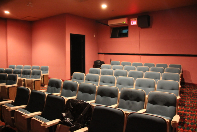 Screen #3 seating