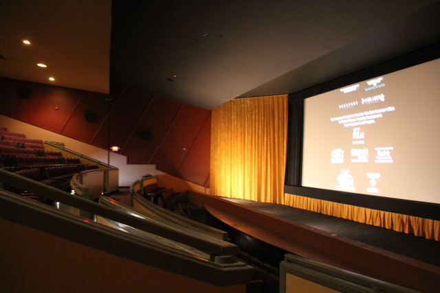 Screen #1 auditorium