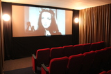Screening room during pre-show