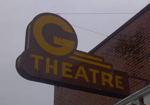 Original G Theatre sign