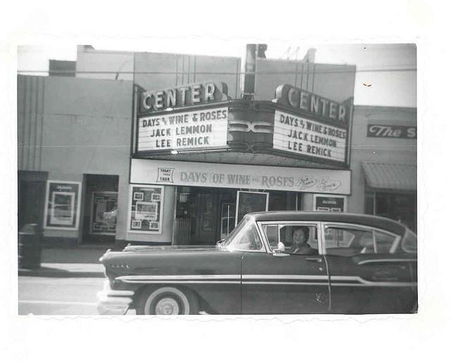 Center Theater, Monroe NC , c. 1962