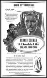 A Double Life Ad, February 18, 1948