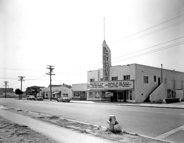 Roxy Theater, Cass St. in Pacific Beach