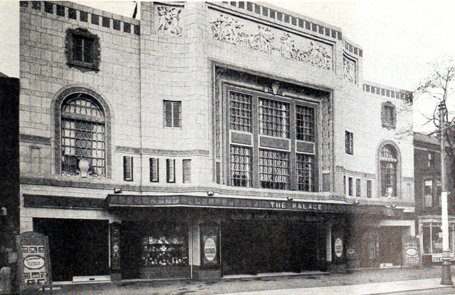 Palace Theatre, Lytham St Annes, England in 1930 - Exterior