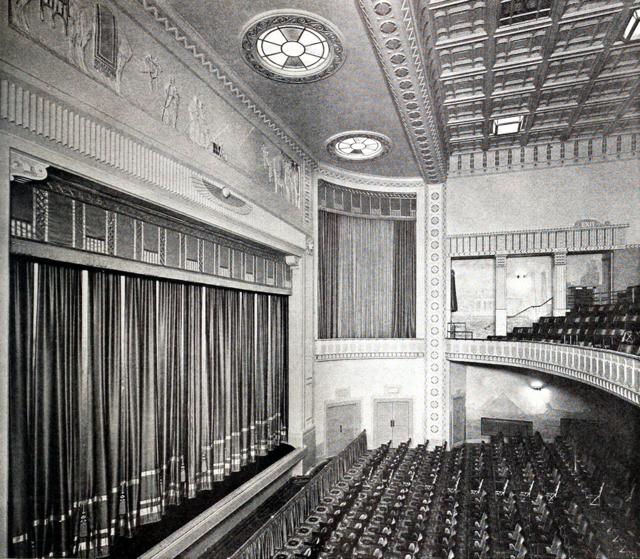 Palace Theatre, Lytham St.Annes in 1930 - Auditorium