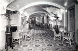 Palace Theatre, Lytham St Annes, England in 1930 - Tearoom lounge