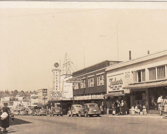 Tower Theater, Bremerton, Wa., 1943