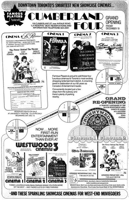 December 11th, 1980 grand opening ad