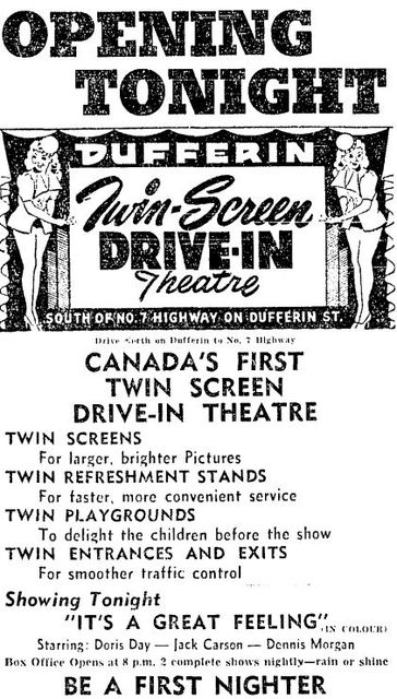 May 27th, 1950 grand opening ad