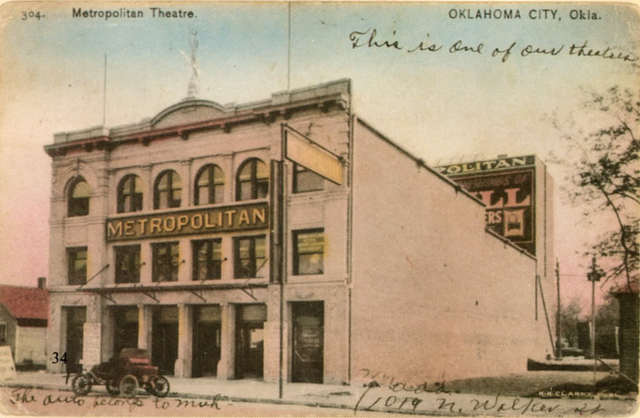 Metropolitan (RKO) Theater, Oklahoma City, Early