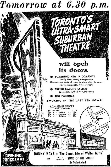 June 17th, 1948 grand opening ad