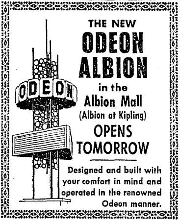 December 24th, 1964 grand opening ad