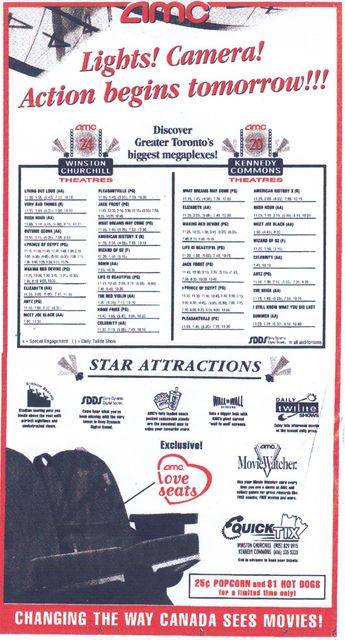 December 17th, 1998 grand opening ad