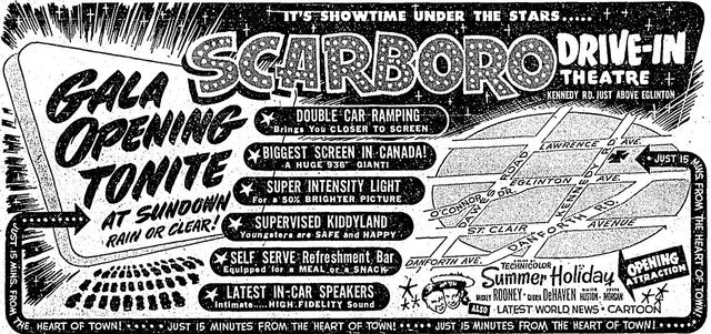 June 19th, 1952 grand opening ad