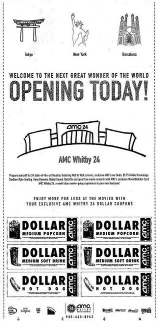 November 24th, 1999 grand opening ad