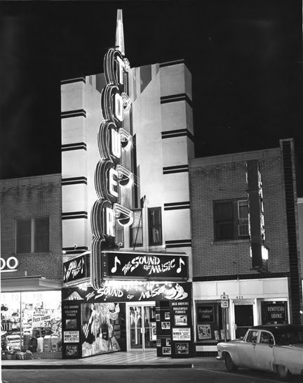 Tower Theater, Oklahoma City, Mid 60's