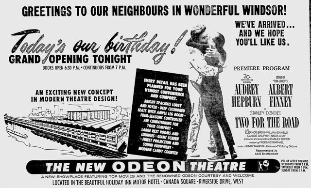 October 4th, 1967 grand opening ad