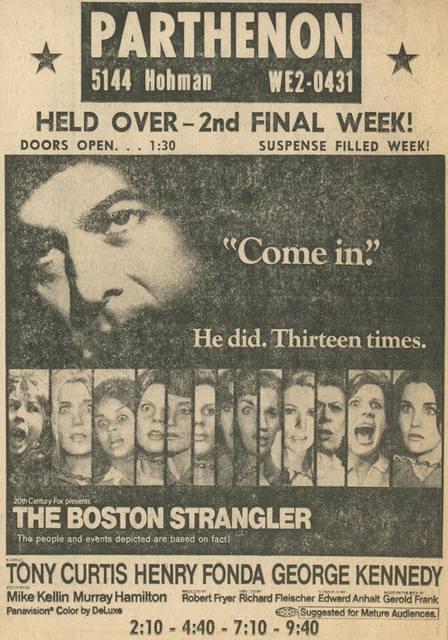 Feb. 7, 1969, The Times print ad courtesy of Tony Arduino.