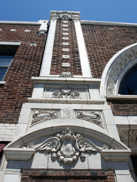 Ridge Theatre, Chicago, IL - facade detail