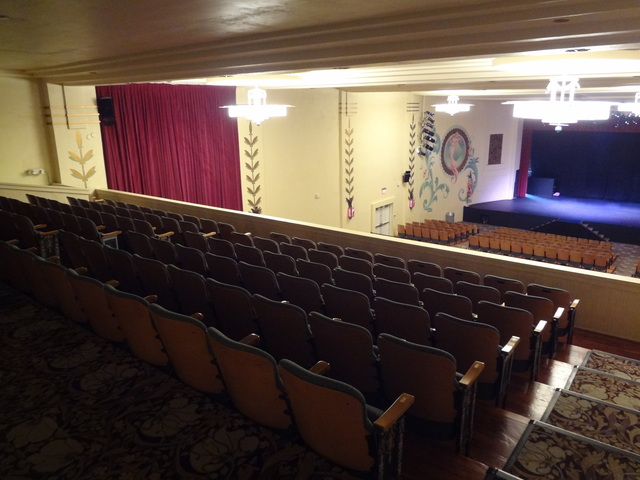 Yuma Theater Balcony Right