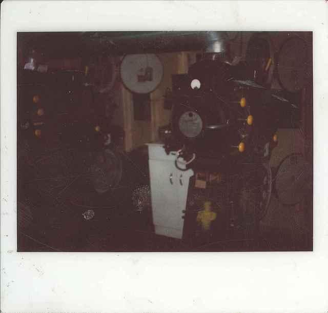 Projectors in the 1863 Cinema - circa 1978