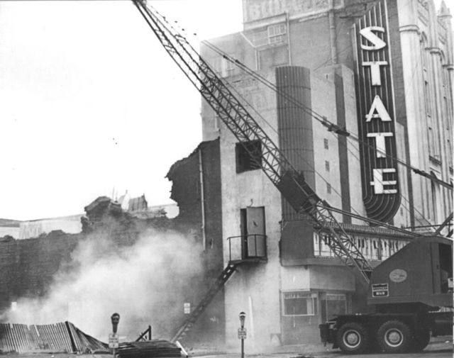 State Theater, Oklahoma City, 1971   THE END