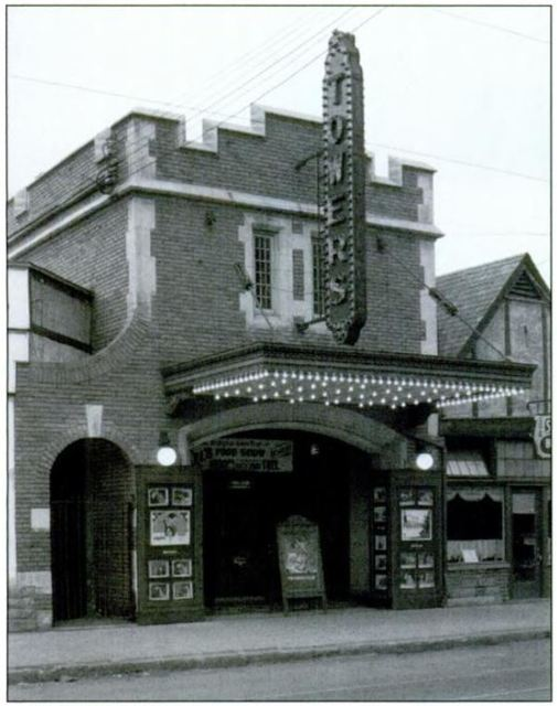 The Knox Theater in a previous incarnation...