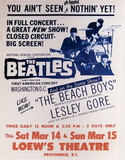 Beatles, Beach Boys, Lesley Gore Promotional Poster (1964)