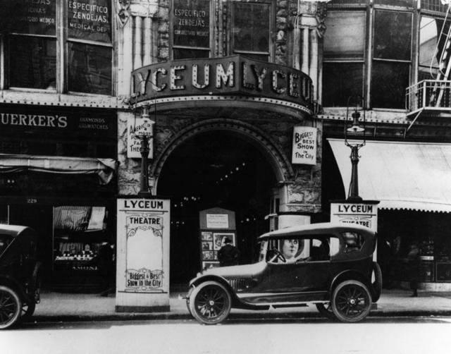 1919 photo courtesy of Kenneth McIntyre.