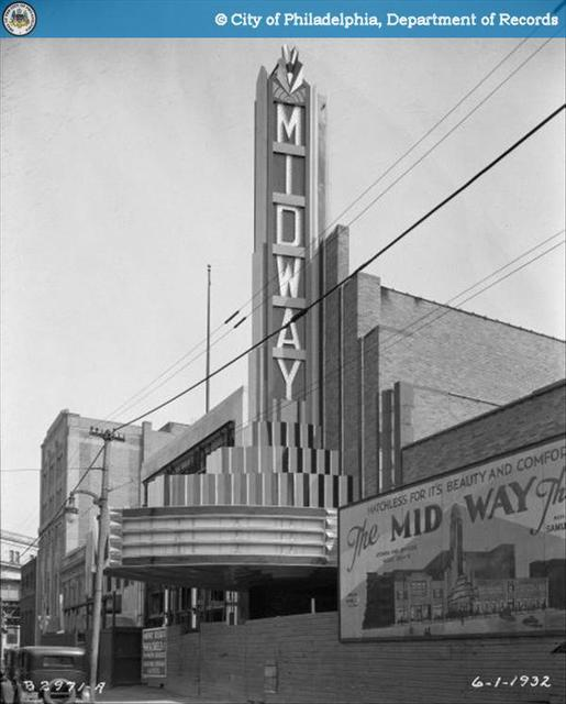 Midway Theatre - 1823-1829 East Allegheny Avenue