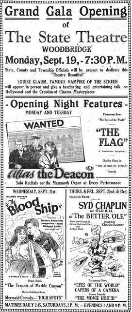 Opening Night State Theatre, Woodbridge, NJ