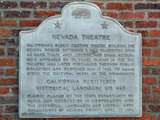 Nevada Theatre, Nevada City CA