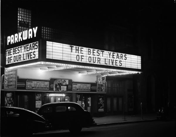 PARKWAY Theatre; Madison, Wisconsin.