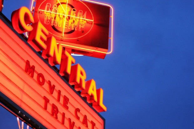 Central Cinema marquee