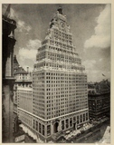Paramount Theater & Office Bldg. New York, NY  1920's