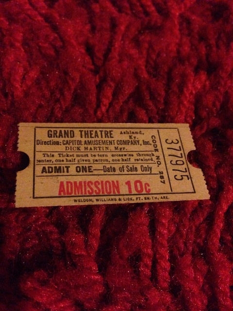 """From the Alfon's days ad the """"Grand Theatre"""""""