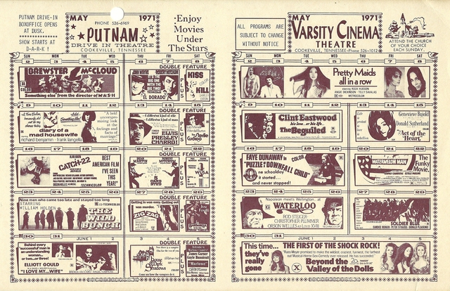 Varsity Cinema Show Card