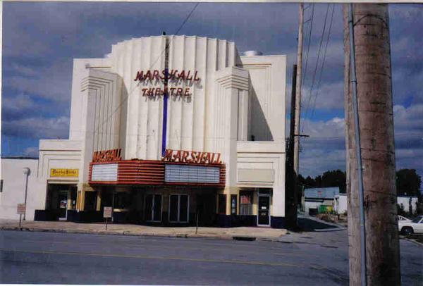 Marshall Theatre in 1985