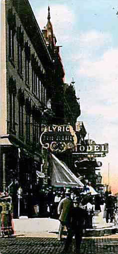 LYRIC Theatre; Peoria, Illinois.