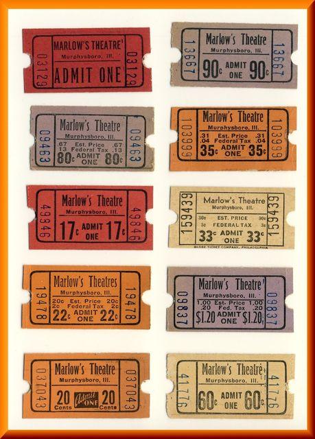 MARLOW'S Theatre; Murphysboro, Illinois.