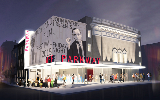 The Future Vision of the Parkway Theatre located at 5 West North Avenue