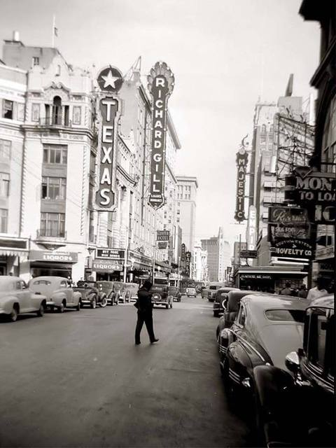 Late 1940's photo credit Traces Of Texas Facebook page.