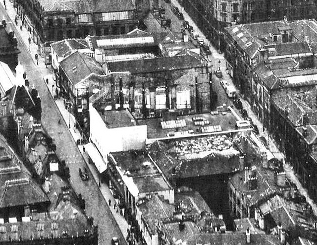 The Savoy site in 1951