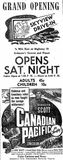 July 28th, 1950 grand opening ad